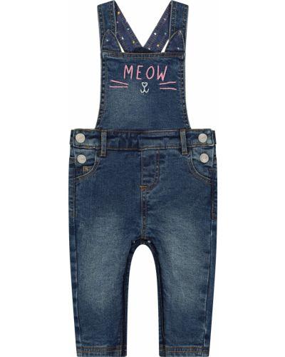 Комбинезон джинсовый синий Mothercare