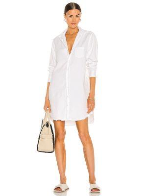 Джинсовое платье - белое Frank & Eileen