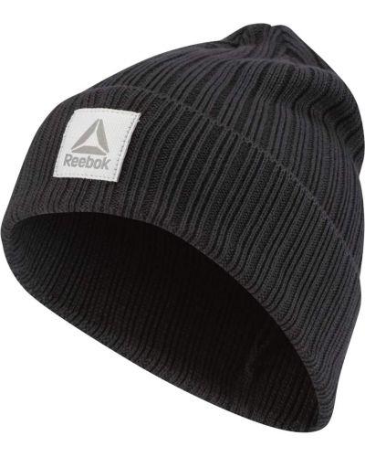 Спортивная шапка - черная Reebok