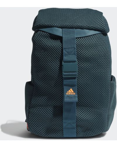Городской черный рюкзак спортивный сетчатый Adidas