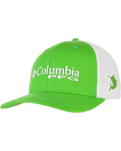 Зеленая бейсболка Columbia