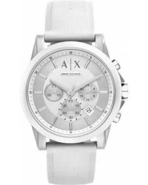 Zegarek biały Armani Exchange