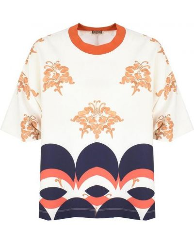 Beżowy t-shirt Maliparmi