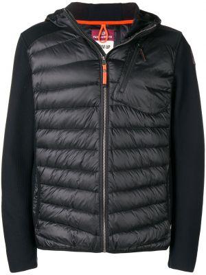 Куртка с капюшоном черная на молнии Parajumpers