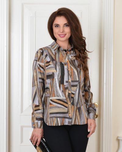 Повседневная с рукавами блузка с воротником Salvi-s