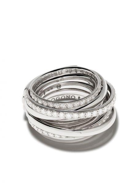 Кольцо с бриллиантом De Grisogono