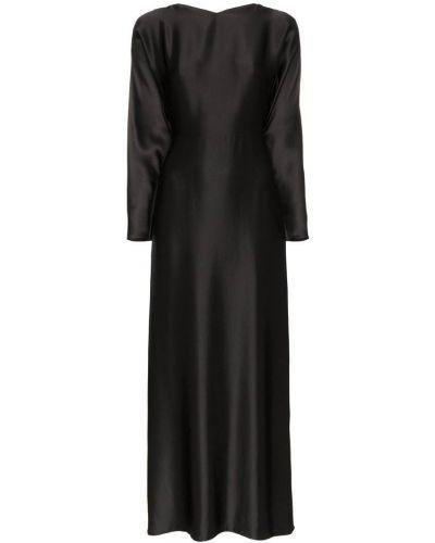 Однобортное классическое платье макси Deitas