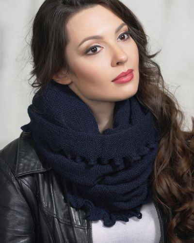Синий шарф Vay