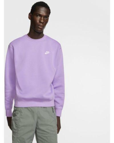 Fioletowa bluza polarowa Nike