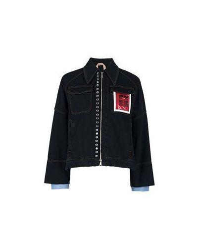 Хлопковая куртка - синяя No.21
