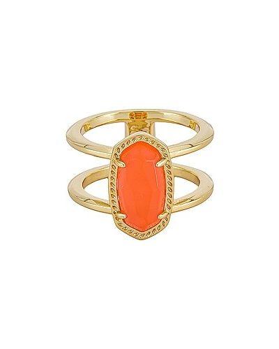 Złoty pierścionek Kendra Scott
