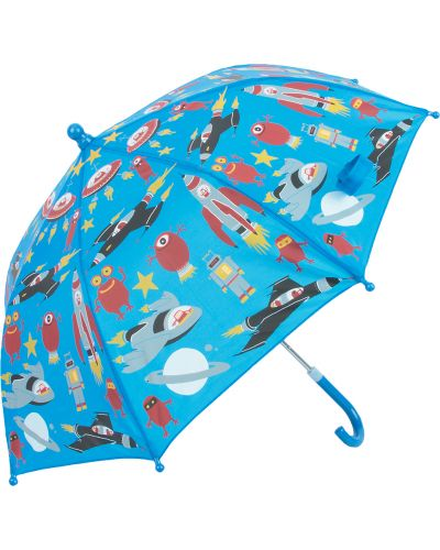 Зонт синий Twins