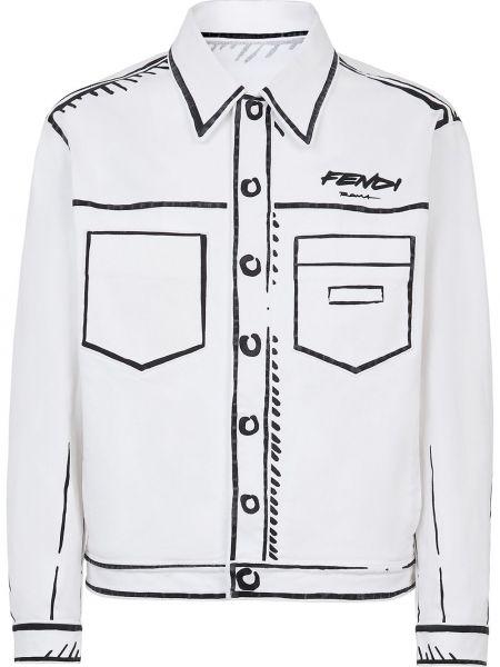 Koszula rozciągać Fendi