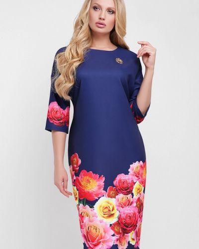 Синее платье весеннее Vlavi