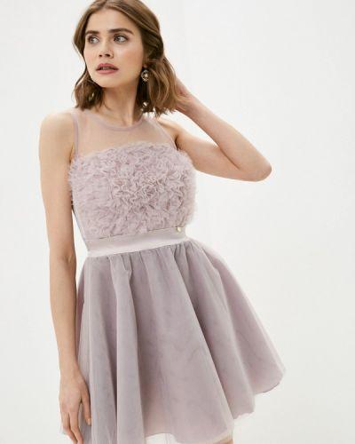 Фиолетовое вечернее платье Rinascimento