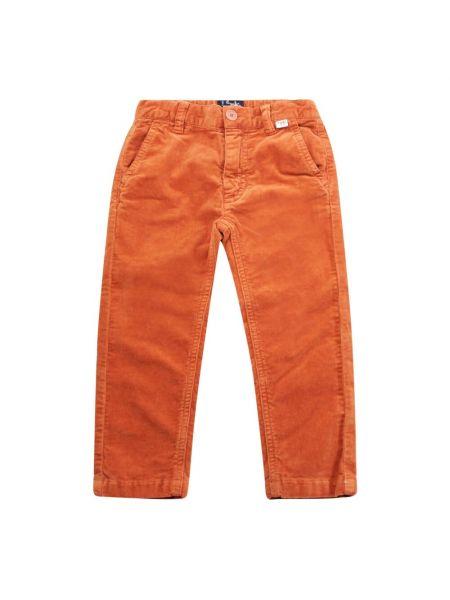 Pomarańczowe spodnie Il Gufo