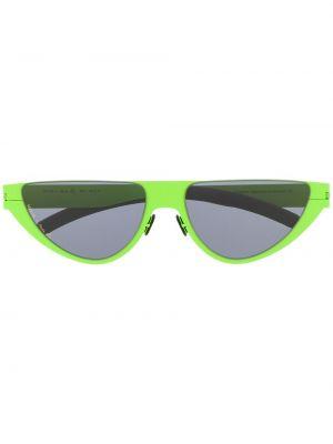Прямые муслиновые черные солнцезащитные очки Martine Rose