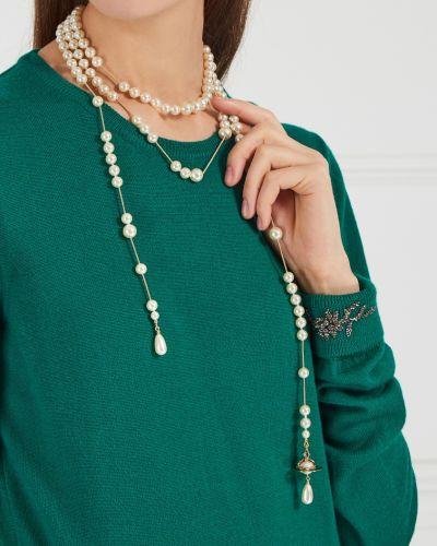 Ожерелье в бусинах - белое Vivienne Westwood