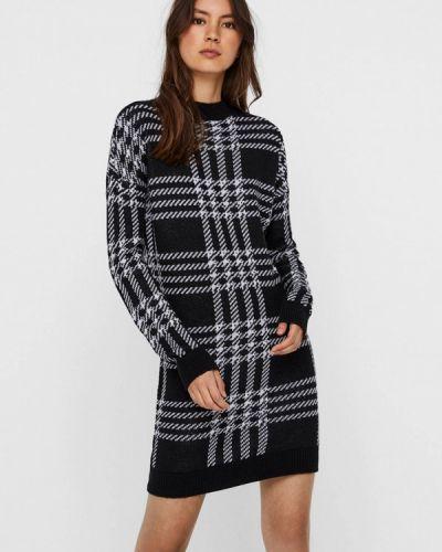 Вязаное черное платье Noisy May
