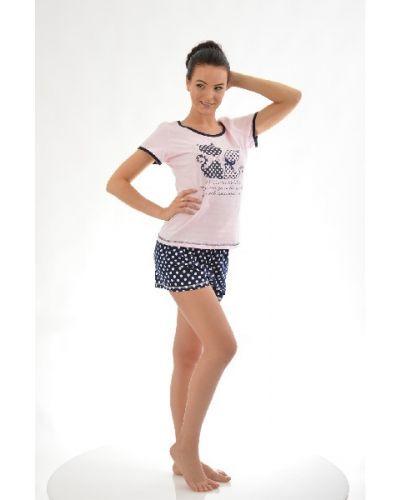 Пижама с брюками с шортами с укороченными брюками Loricci