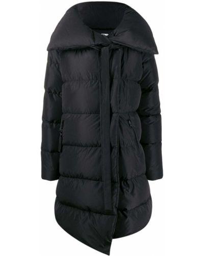 Длинная куртка черная оверсайз Bacon