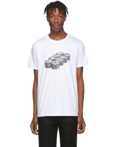 Czarny t-shirt bawełniany krótki rękaw Byredo