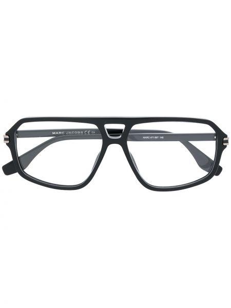 Черные очки прямоугольные Marc Jacobs Eyewear