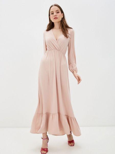 Однобортное розовое платье Miss Miss By Valentina