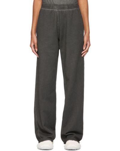Spodnie z haftem Helmut Lang