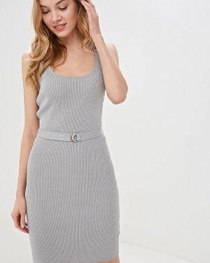 Платье серое платье-майка Love Republic