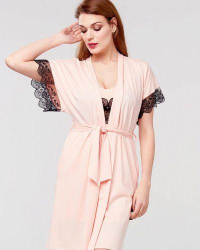 Домашний халат - розовый Ora