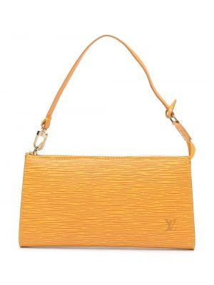 Złota kopertówka - żółta Louis Vuitton