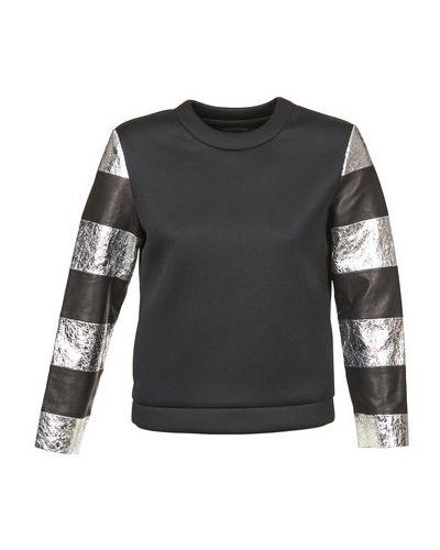Bluza z kapturem czarny American Retro