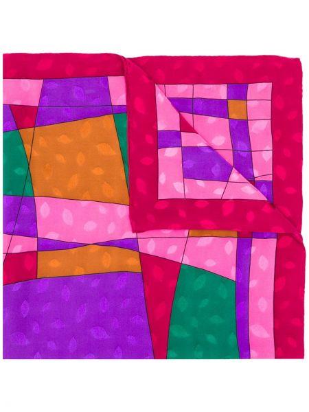 Розовый шарф Pierre Cardin Pre-owned
