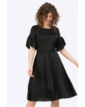 Вечернее платье короткое - черное Emka