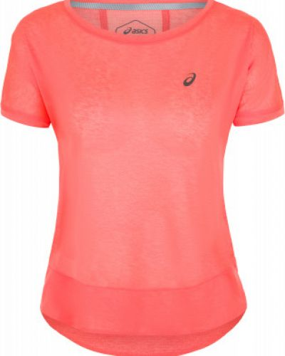 Спортивная футболка розовый плоский Asics