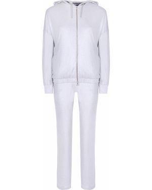 Спортивный костюм на молнии - серебряный Capobianco