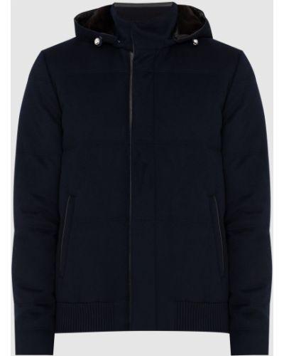 Пуховая куртка - синяя Enrico Mandelli