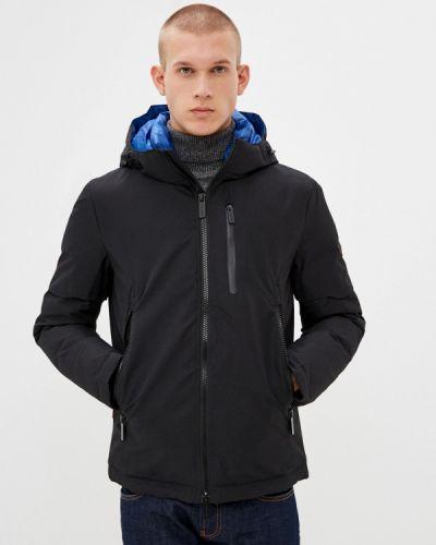 Черная утепленная куртка Qwentiny