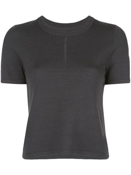 T-shirt krótki rękaw wełniany Nagnata