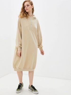 Бежевое платье B.style