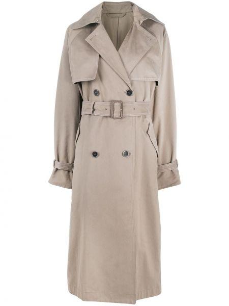 Длинное пальто на кнопках пальто-тренч Acne Studios