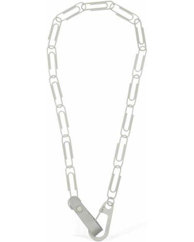Naszyjnik srebrny Off-white