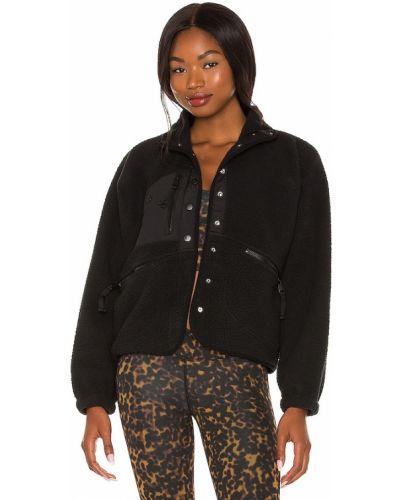 Куртка из искусственного меха - черная Free People