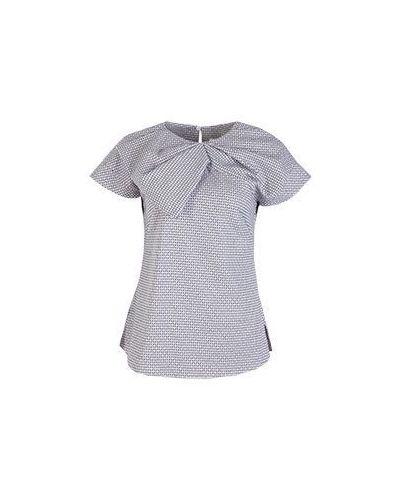 Хлопковая повседневная розовая блузка Vuall