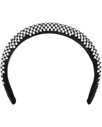 Ободок - черный Prada