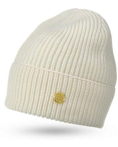 Белая шапка шерстяная Pure Purr..