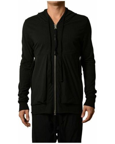 Czarna kurtka z kapturem Thom Krom