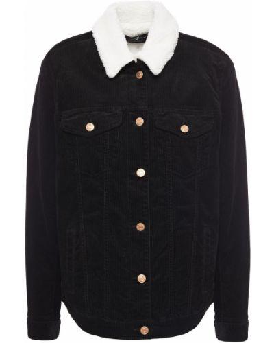 Ватная черная куртка вельветовая 7 For All Mankind