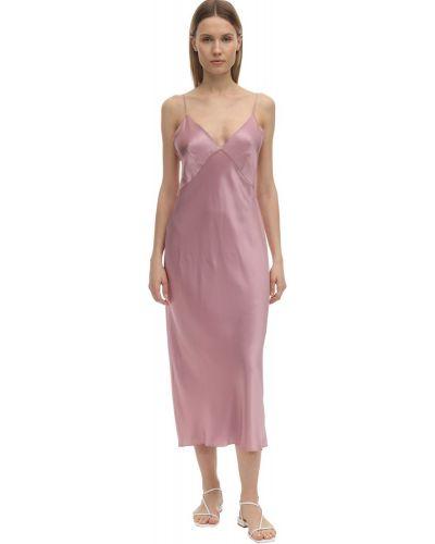 Платье на бретелях с V-образным вырезом Olivia Von Halle
